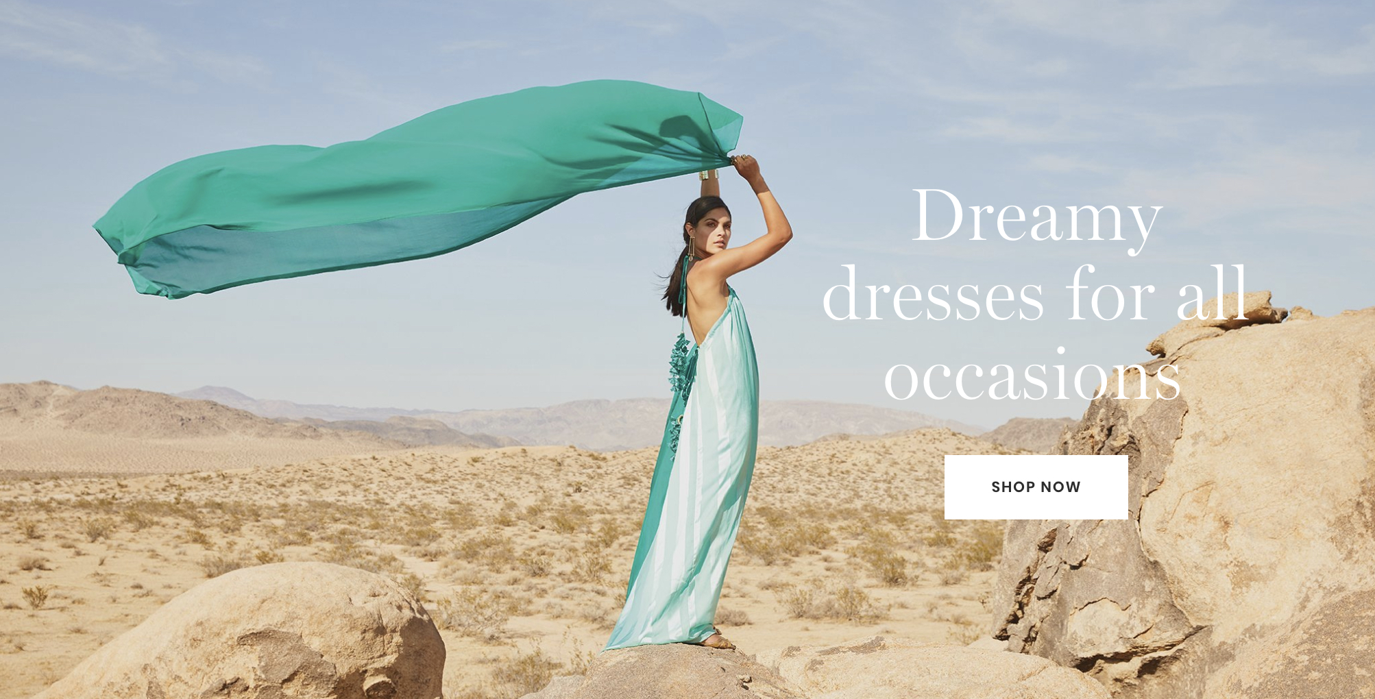 shop dreamy dresses now